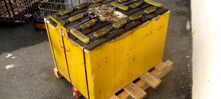 Photo of Forklift Batteries