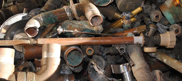 scrap metal brass