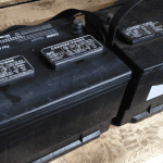 scrap car battery