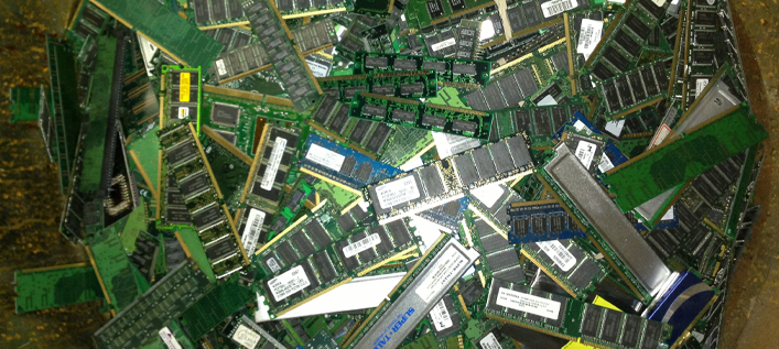 Photo of Memory Chips
