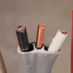 romex wire scrap