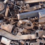scrap steel iron