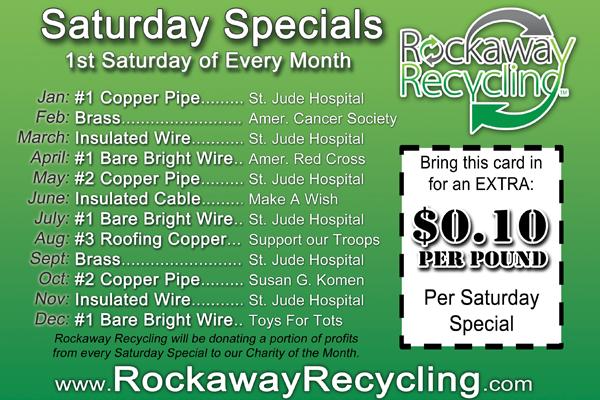 2013 Saturday Specials