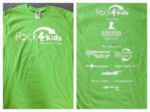 rock 4 kids fundraiser