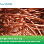 Scrap Metal Prices August 12 2013