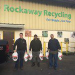 Rockaway Recycling Donates 20 Turkeys