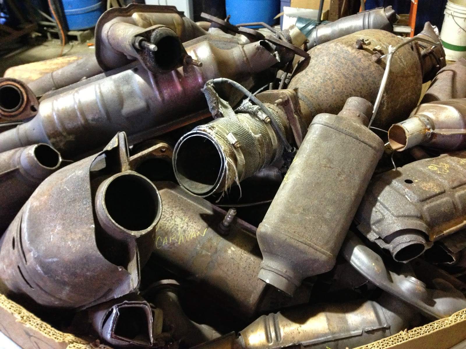 Catalytic Converters For Scrap