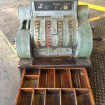 Cool Scrap Brass Cash Register