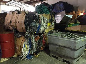 holding onto scrap metal with low prices
