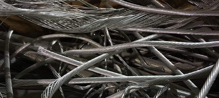 Photo of Clean Aluminum Wire