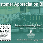 June 2016 Customer Appreciation BBQ