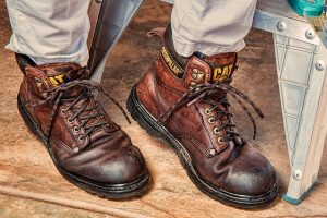 extra pair of work boots