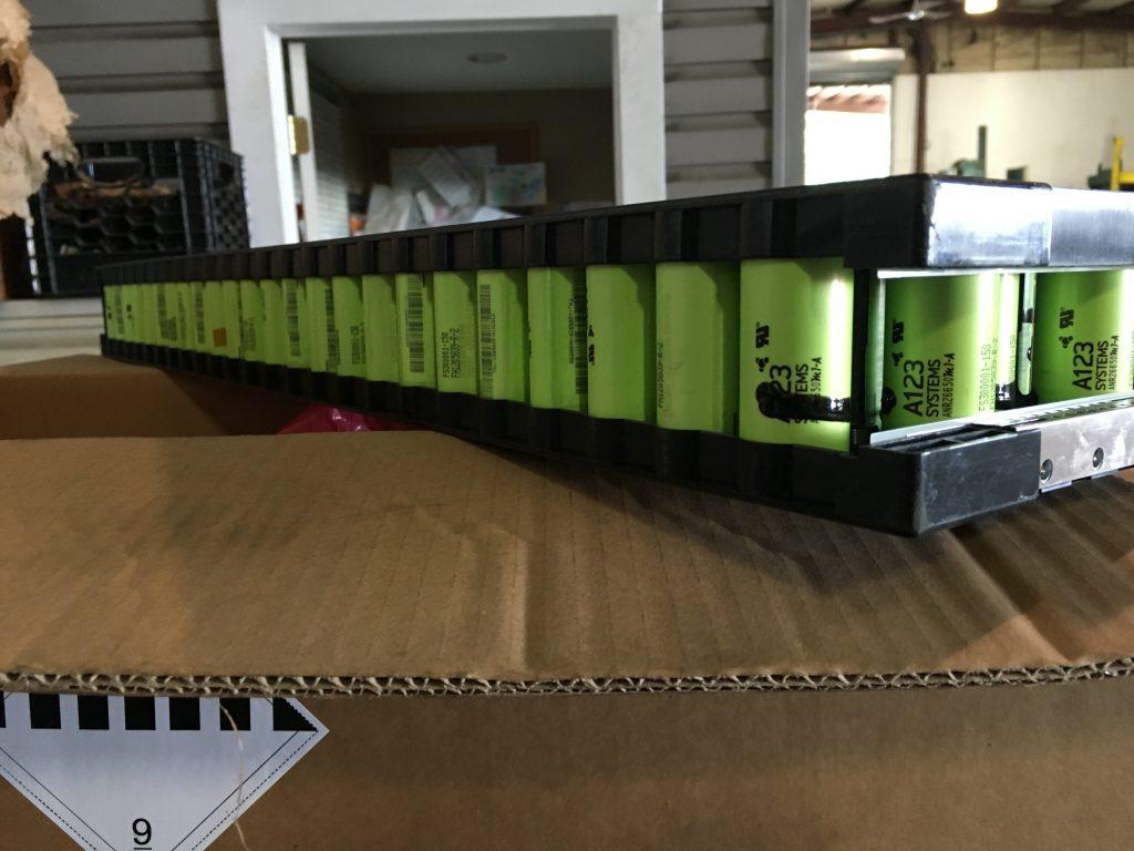A123 Scrap Batteries