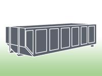 Enclosed 20 Yard Scrap Metal Container - Rockaway Recycling