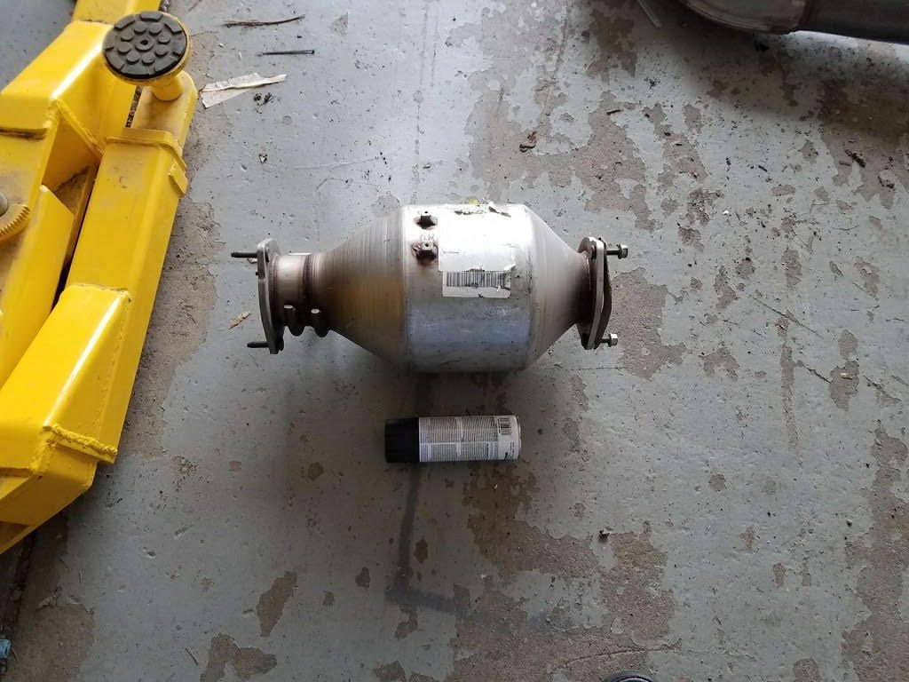 Photo of DPF Catalytic Converter