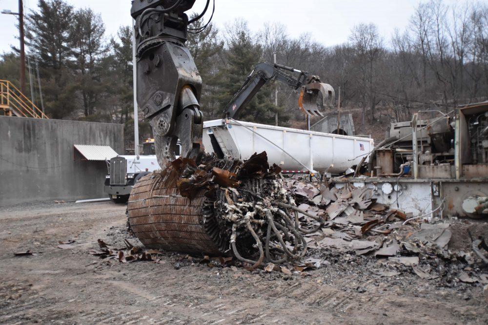 Industrial Scrap Metal Services - Rockaway Recycling