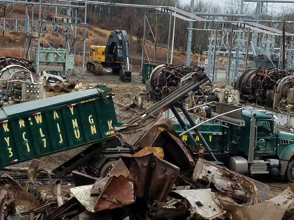 Scrap Metal Pick Up >> National Industrial Scrap Metal Demolition Services Scrap Buyers